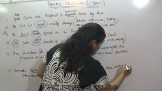 GRAMMAR NOUN PRACTICE SESSION 1 FOR SSC CGL CHSL IBPS by DINESH MIGLANI TUTORIALS