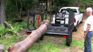 Firewood Log Trailer