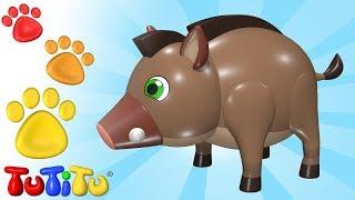 Boar and Friends | Animal Toys for Children | TuTiTu Animals
