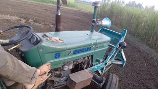 Selfie video FIAT 640 With Rotavator Must Watch 2017.