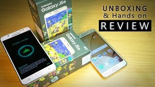 Samsung GALAXY J5 2016 dual Unboxing (White+Gold) & Hands on REVIEW- Worth the price?
