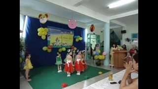 Lễ ra trường Mầm non Tân Định, phần 4/ 2013