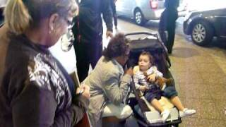 Whitney Houston at Sydney Airport 2010