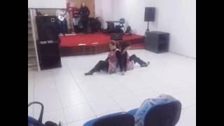 Coreografia aceito o teu chamado - Bruna Karla (meninas dos olhos de Deus)