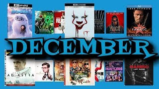 December 2019 Blu-Ray, DVD Release Preview