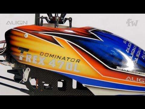 Align T-REX 470LM Dominator Super Combo Microbeast Plus