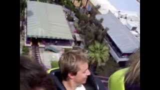 INSANE!!! Hot girl POV Roller coaster at Six Flags