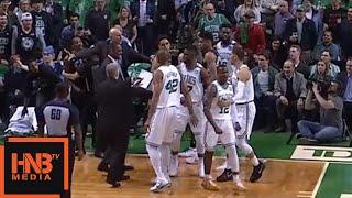 Eric Bledsoe & Terry Rozier Skirmish / Celtics vs Bucks Game 5