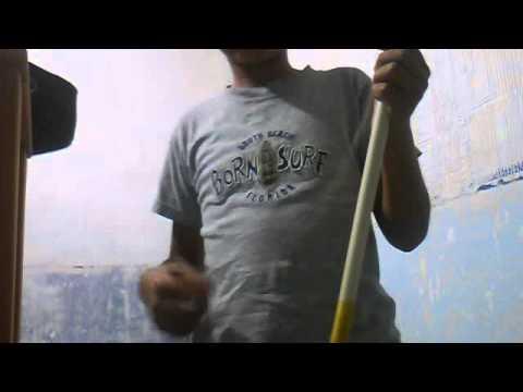 como hacer un arco com un tubo de pvc
