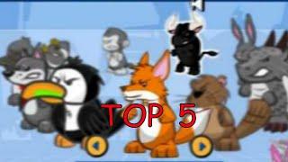 [ TOP 5 ] LOS MEJORES PETS QUE EXISTIERON EN WILD ONES