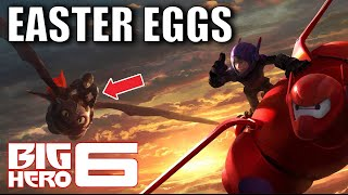 70 Easter Eggs of BIG HERO 6 You Didn't Notice