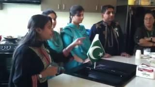 Pakistan AEI Students Cooking Night