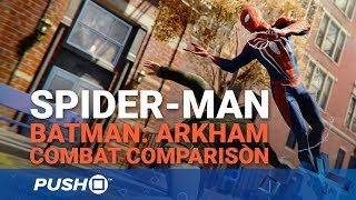 Marvel's Spider-Man PS4: How Does the Combat Compare to Batman: Arkham?   PlayStation 4