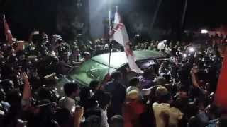 Mass Entry Of VS Achuthanandan in Clappana  [HD]