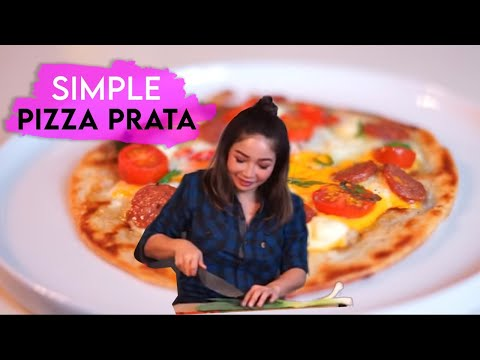 Simple Prata Pizza