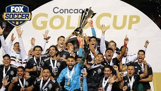 Watch Mexico lift the Gold Cup trophy for a record 8th time | 2019 CONCACAF Gold Cup