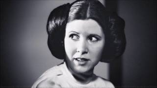Carrie Fisher Memorial.