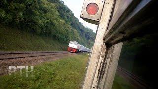 travel gatel: Panorama Perjalanan Kereta Api Ciremai Express (Indonesia Train)