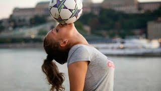 Female Football ► Freestyle Football Skills  ||HD||