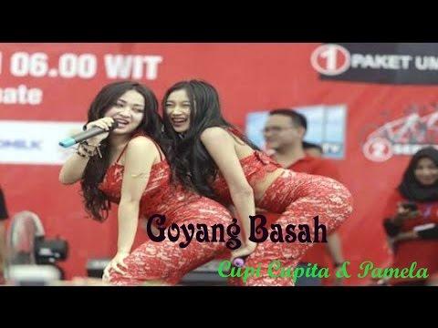 Goyang Hot Cupi Cupita feat Pamela Eks Duo Serigala di Ternate Maluku Utara 1 Mei 2017