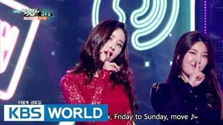 Dalshabet - FRI. SAT. SUN   달샤벳 - 금토일 [Music Bank / 2016.10.28]