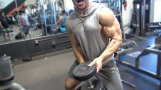 CHEST and BACK at Golds Gym Venice & More | Vlog
