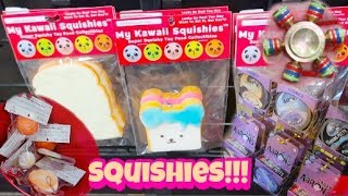 THEY HAVE SQUISHIES! | FIDGET SPINNERS! |  NEW CRAZY AARONS THINKING PUTTY! | SHOPPING VLOG
