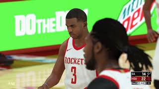 NBA 2K18 Play Now Online Gameplay: Houston Rockets!