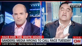Cenk Uygur Vs CNN
