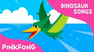 Pteranodon | Dinosaur Songs | Pinkfong Songs for Children