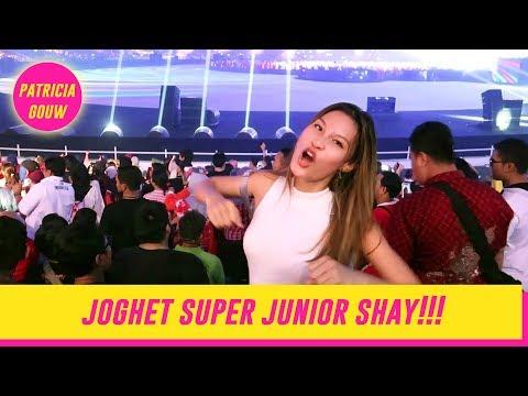 JOGHET SUPER JUNIOR DI CLOSING ASIAN GAMES 2018