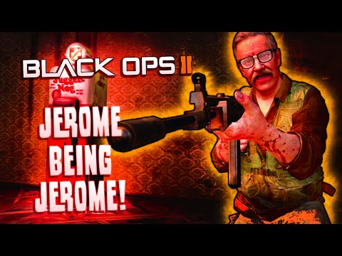 Jerome Being Jerome! - BO2 - Ordering a Pizza, Anaconda Dick, Flirting and More!