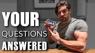 Q&A | Why I Shaved The Beard ● Social Media Issues ● Mass Building ● Intermittent Fasting (Pt. 1)