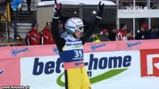 Simon Ammann 215,5m - Harrachov 2011 - Fall