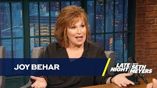 Joy Behar Remembers Trump's Criminal-Filled Wedding to Marla Maples
