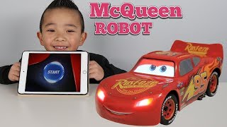 The Ultimate Disney Cars 3 Robot Lightning McQueen Toy Ckn Toys