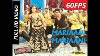 [60FPS] Marjaani Full HD Video Song Billu | Shahrukh Khan | Kareena Kapoor