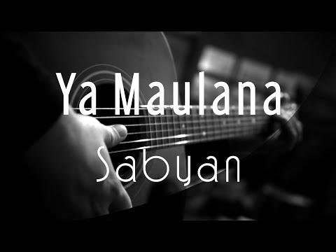 Ya Maulana Sabyan Acoustic Karaoke