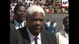 Sally Mugabe buried