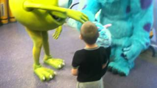 Meeting Sully and Mike