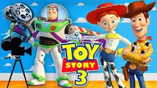 DISNEY PIXAR TOY STORY 3 FULL MOVIE GAME FOR KIDS IN ENGLISH - CARTOON GAMES HD