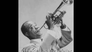 Louis Armstrong - On The Sunny Side Of The Street [with lyrics]