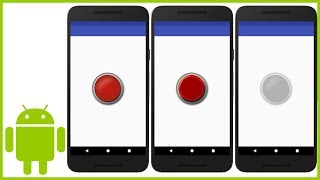 How to Create a Custom Button (With Images) in Android Studio