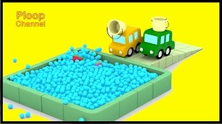 AQUARIUM! - Cartoon Cars Cartoons for Children - Childrens Animation Videos for kids cars