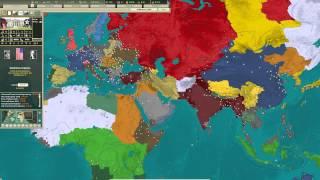 Kaiserreich Europe Time-lapse (DH 1.04)