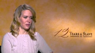 Sarah Paulson's Official '12 Years a Slave' Interview