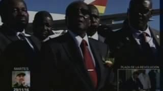Robert Mugabe: Fidel es el líder de todos los revolucionarios