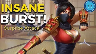 Paladins: Skye New Surprise Attack Gameplay and Loadout! Surprise Attack