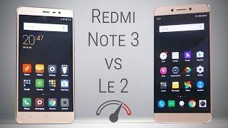 Redmi Note 3 vs LeEco Le 2 Speedtest Comparison!