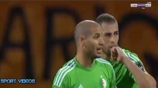 أهداف مباراة الجزائر و السنغال 2-2 بتعليق حفيظ دراجي || كأس أمم إفريقيا 2017 ||